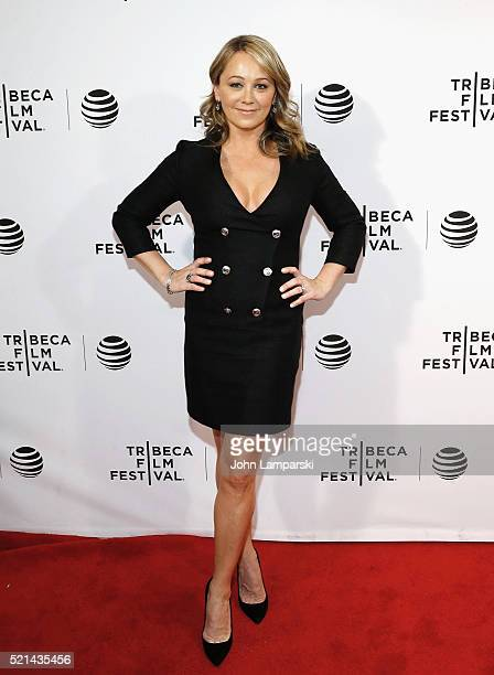 Christine Taylor attends Little Boxes Premiere during the 2016 Tribeca Film Festival at Chelsea Bow Tie Cinemas on April 15 2016 in New York City