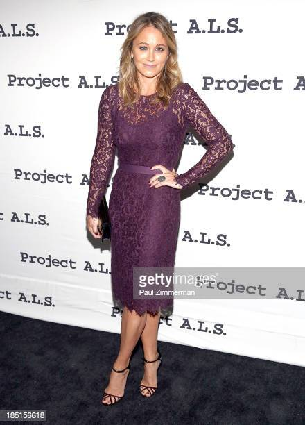 Christine Taylor attends Project ALS 15th anniversary party on October 17 2013 in New York United States