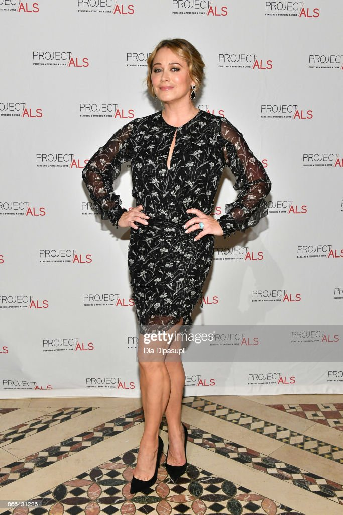 Christine Taylor attends the 19th Annual Project ALS Benefit Gala at Cipriani 42nd Street on October 25, 2017 in New York City.