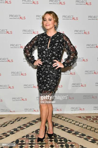 Christine Taylor attends the 19th Annual Project ALS Benefit Gala at Cipriani 42nd Street on October 25 2017 in New York City