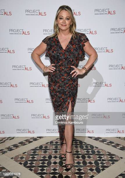 Christine Taylor attends The 2018 Project ALS Gala at Cipriani 42nd Street on October 24 2018 in New York City