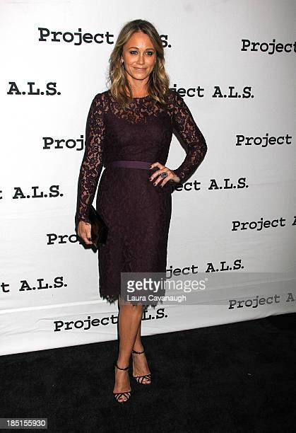 Christine Taylor attends the Project ALS 15th Anniversary at Roseland Ballroom on October 17 2013 in New York City