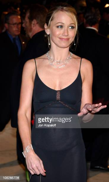 Christine Taylor during 2004 Vanity Fair Oscar Party at Mortons in Beverly Hills California United States