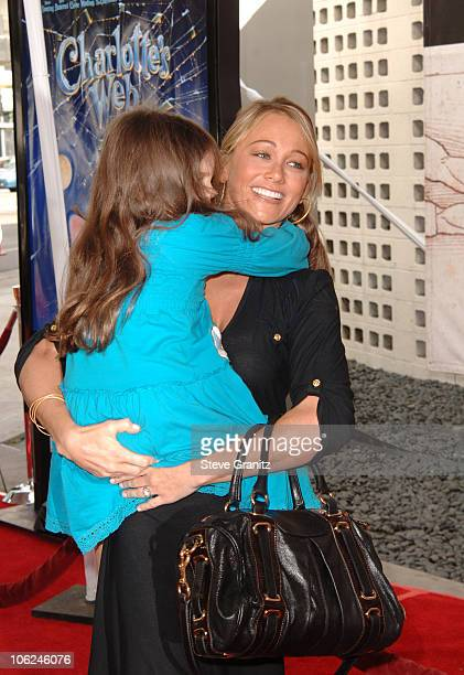 Christine Taylor during Charlotte's Web Los Angeles Premiere Arrivals at ArcLight Theatre in Hollywood California United States
