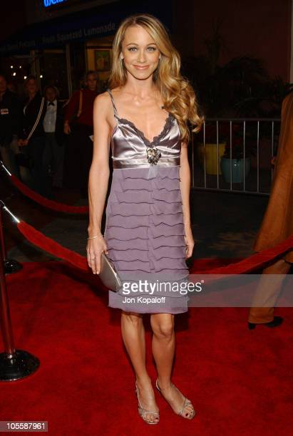 Christine Taylor during Meet the Fockers Los Angeles Premiere at Universal Amphitheatre in Universal City California United States