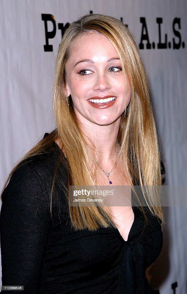 Christine Taylor During Project A.L.S. 5th Annual New York