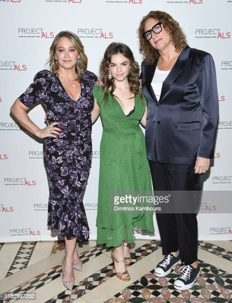 Christine Taylor Ella Olivia Stiller and Judy Gold attend Project ALS 21st Annual New York City Gala at Cipriani 42nd Street on October 23 2019 in...