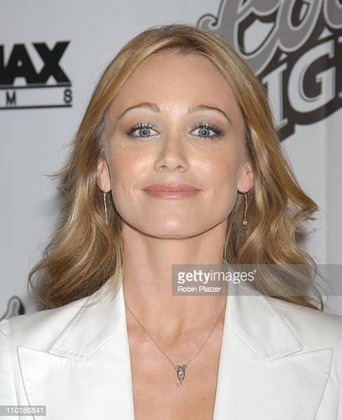 Christine Taylor in Stella McCartney suit during New York Premiere of Duplex at The Beekman Theatre in New York City New York United States