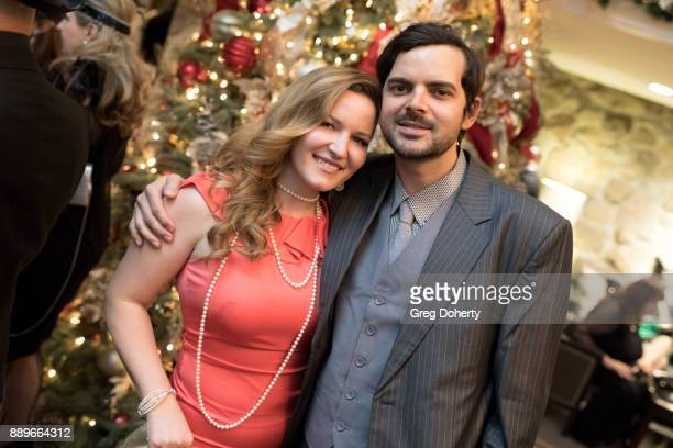 Christine Troutman and Lee Troutman attend The Thalians Hollywood for Mental Health Holiday Party 2017 at the Bel Air Country Club on December 09...
