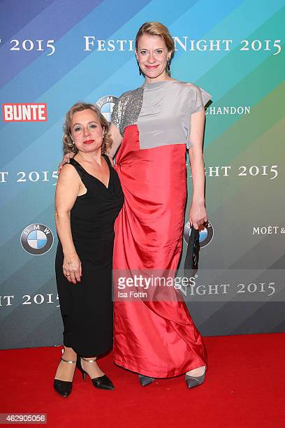 Christine Urspruch and Caroline Peters attend the Bunte BMW Festival Night 2015 on February 06 2015 in Berlin Germany