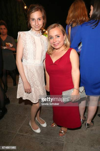 ChrisTine Urspruch and her daughter Lilo Urspruch during the Lola German Film Award after party at Palais am Funkturm on April 28 2017 in Berlin...