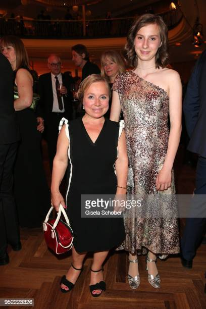 Christine Urspruch and her daughter Lilo Urspruch during the Lola German Film Award party at Palais am Funkturm on April 27 2018 in Berlin Germany