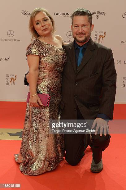 Christine Urspruch and Tobias Materna attend the Bambi Awards 2013 at Stage Theater on November 14 2013 in Berlin Germany