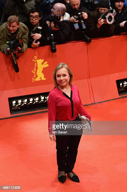 Christine Urspruch attends the 'Nymphomaniac Volume I ' premiere during 64th Berlinale International Film Festival at Berlinale Palast on February 9...