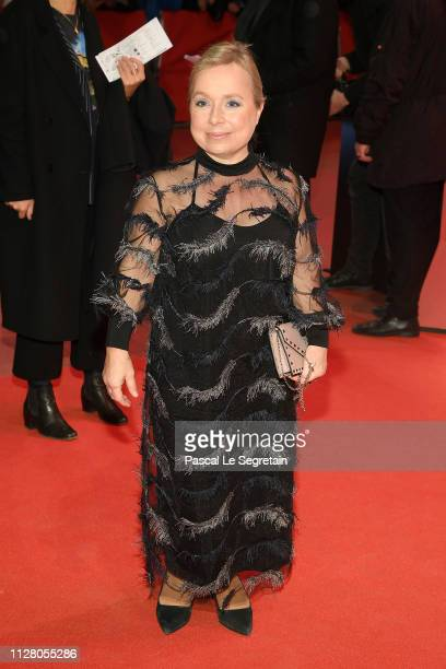 Christine Urspruch attends the The Kindness Of Strangers premiere during the 69th Berlinale International Film Festival Berlin at Berlinale Palace on...