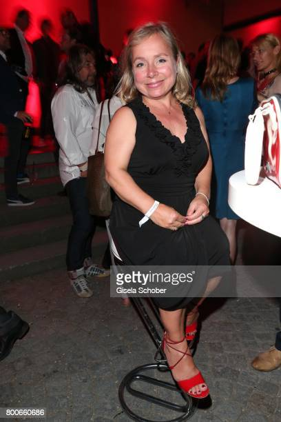 Christine Urspruch during the 'Audi Director's cut' Party during the Munich film festival at Praterinsel on June 24 2017 in Munich Germany