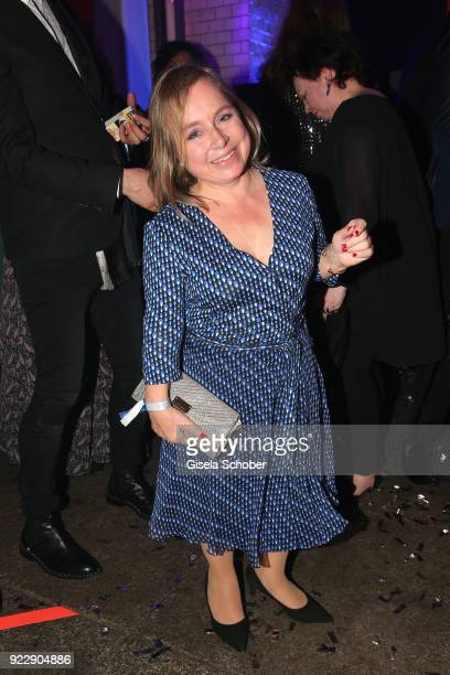 Christine Urspruch during the BUNTE BMW Festival Night 2018 on the occasion of the 68th Berlinale International Film Festival Berlin at Restaurant...