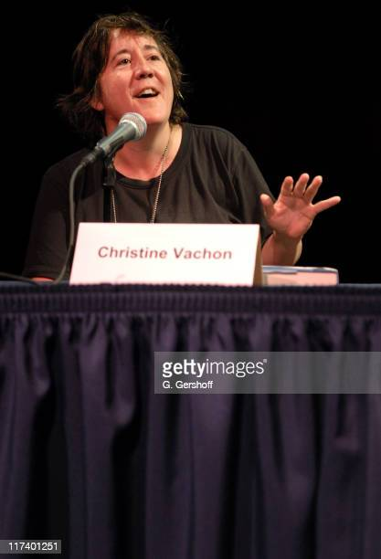 """Christine Vachon during 14th Annual Hamptons International Film Festival - """"A Killer Life"""" Panel with Christine Vachon and Ted Hope at Bay Street..."""