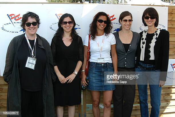 """Christine Vachon, producer of """"Killer Films,"""" Nicole Kassell, writer/director of """"The Woodsman,"""" Rebecca Ascher-Walsh of Entertainment Weekly, Rena..."""