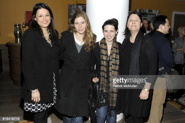 Christine Walker Carolyn Murphy Heather Matarazzo and Elizabeth Redleaf attend THE CINEMA SOCIETY THOMSON REUTERS host the after party for HOWL at...