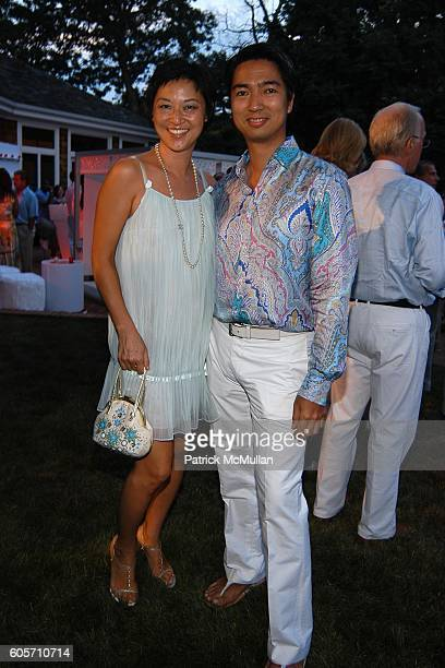 Christine Y Kim and Rafe Totengco attend ART FOR LIFE benefit for the RUSH PHILANTHROPIC ARTS FOUNDATION hosted by Russell and Kimora Lee Simmons at...