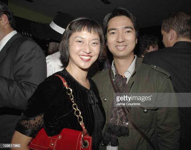 Christine Y Kim and Rafe Totengco during Saks Fifth Ave and Biba Present the Relaunch of the Biba Lounge at SAKS Fifth Ave at SAKS Fifth Avenue in...