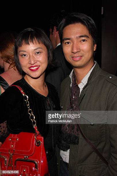 Christine Y Kim and Rafe Totengto attend Biba by Bella Freud preview and launch of The New Two at Biba Lounge Saks Fifth Avenue NYC on September 27...