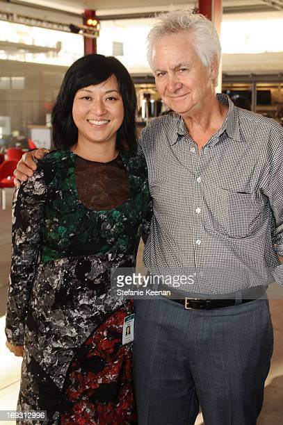 Christine Y Kim and Ric Kayne attend LACMA Celebrates Opening Of James Turrell A Retrospective at LACMA on May 22 2013 in Los Angeles California