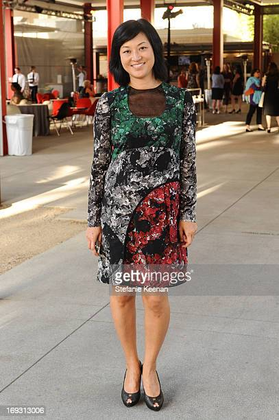 Christine Y Kim attends LACMA Celebrates Opening Of James Turrell A Retrospective at LACMA on May 22 2013 in Los Angeles California