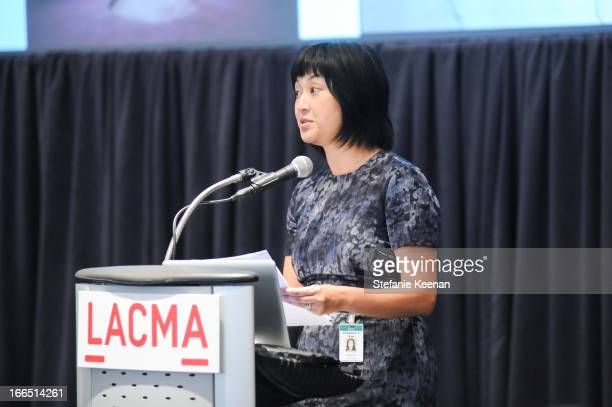 Christine Y Kim attends LACMA's 2013 Collectors Committee Viewing Of Proposed Acquisitions And Curatorial Presentations at LACMA on April 13 2013 in...