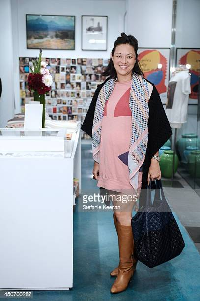 Christine Y Kim attends LACMA's Director's Circle And NETAPORTERCOM Celebrate The Fall 2013 Collection For Wear LACMA at LACMA on November 19 2013 in...