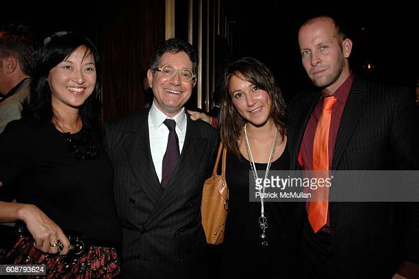 Christine Y Kim Jeffrey Deitch Melis Abacioglu and John McDonald attend MORGANS HOTEL GROUP Preview Of The ROYALTON and John McDonald's BRASSERIE 44...