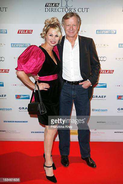 Christine Zierl and Neidhardt Riedel attend the TELE 5 Directors Cut at Sofitel on October 5, 2012 in Hamburg, Germany.