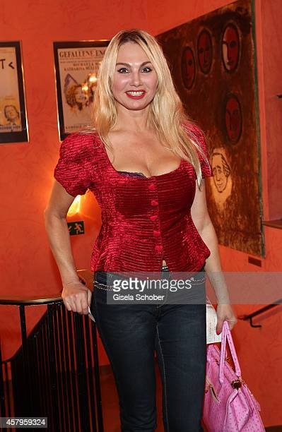 Christine Zierl attends the 'Alle Sieben Wellen' Premiere at Komoedie on October 27 2014 in Munich Germany