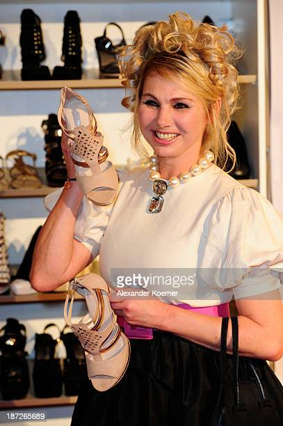 Christine Zierl attends the Deichmann Shoe Step of the Year 2013 at Curio Haus on November 7 2013 in Hamburg Germany