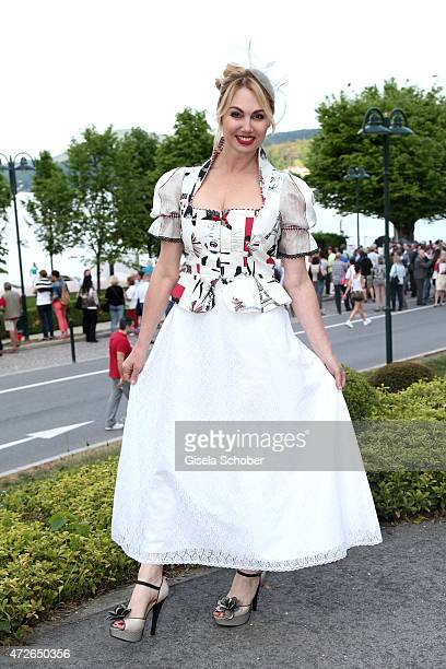 Christine Zierl during the 'Ein Schloss am Woerthersee' 25th anniversary gala on May 8, 2015 in Velden, Austria.