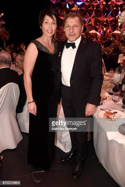 Christl Stumhofer and Richy Mueller attend the Leipzig Opera Ball on November 4 2017 in Leipzig Germany