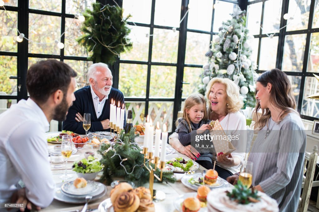 Christmas always brings together the family : Stock Photo
