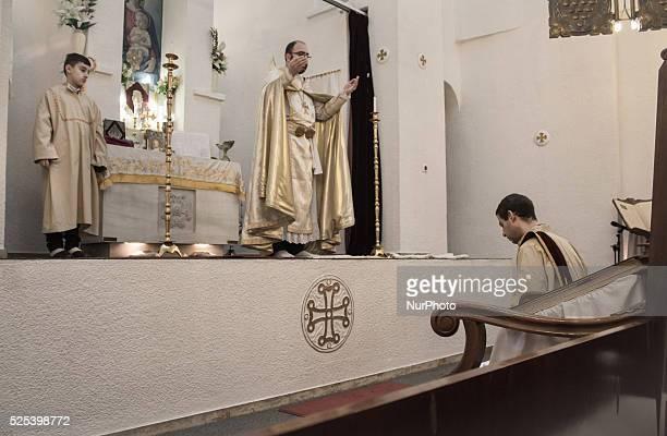 Christmas and Epiphany daySaint Garabed Armenian church Greece Athens January 06 2016
