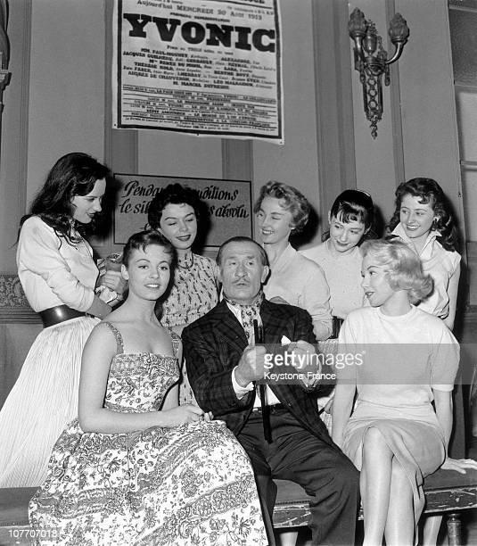 Christmas And Nadine Roquevert Tallia On April 21St, 1957