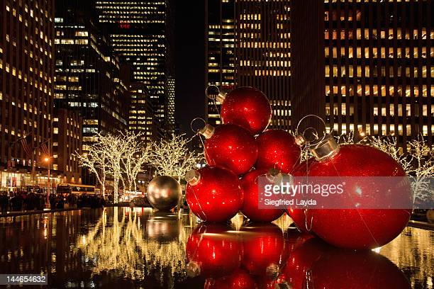 Christmas at 6th Avenue, New York,