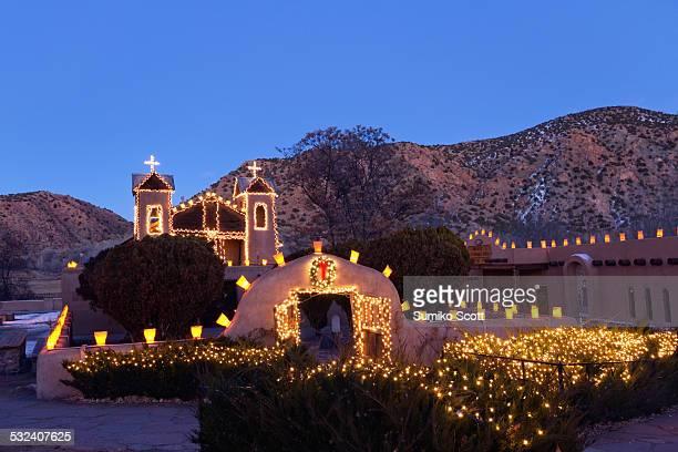 Christmas at El Santuario de Chimayo
