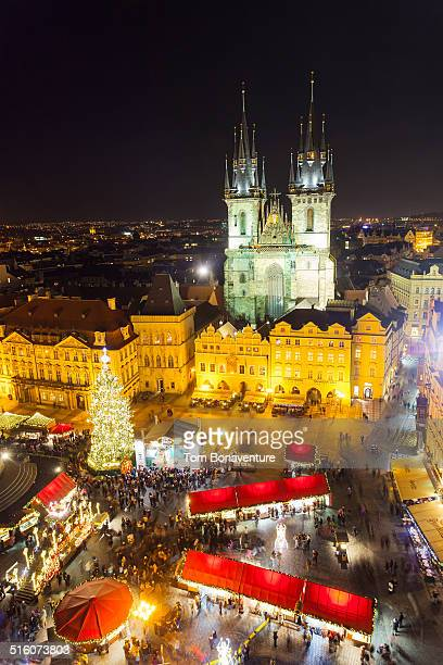 Christmas at Old Town Square and Tyn Church