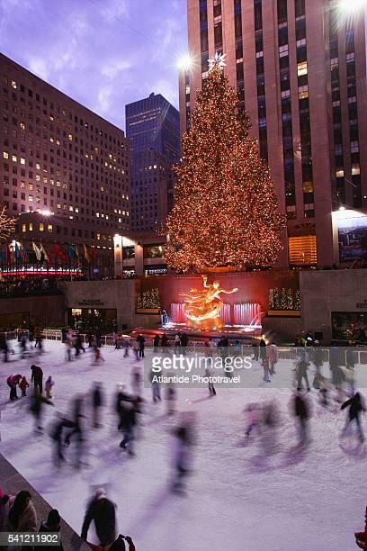 Christmas at Rockfeller Plaza