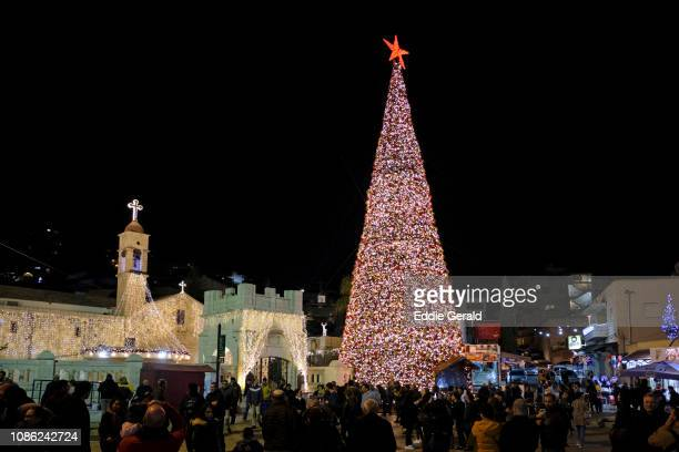 Christmas atmosphere in Nazareth