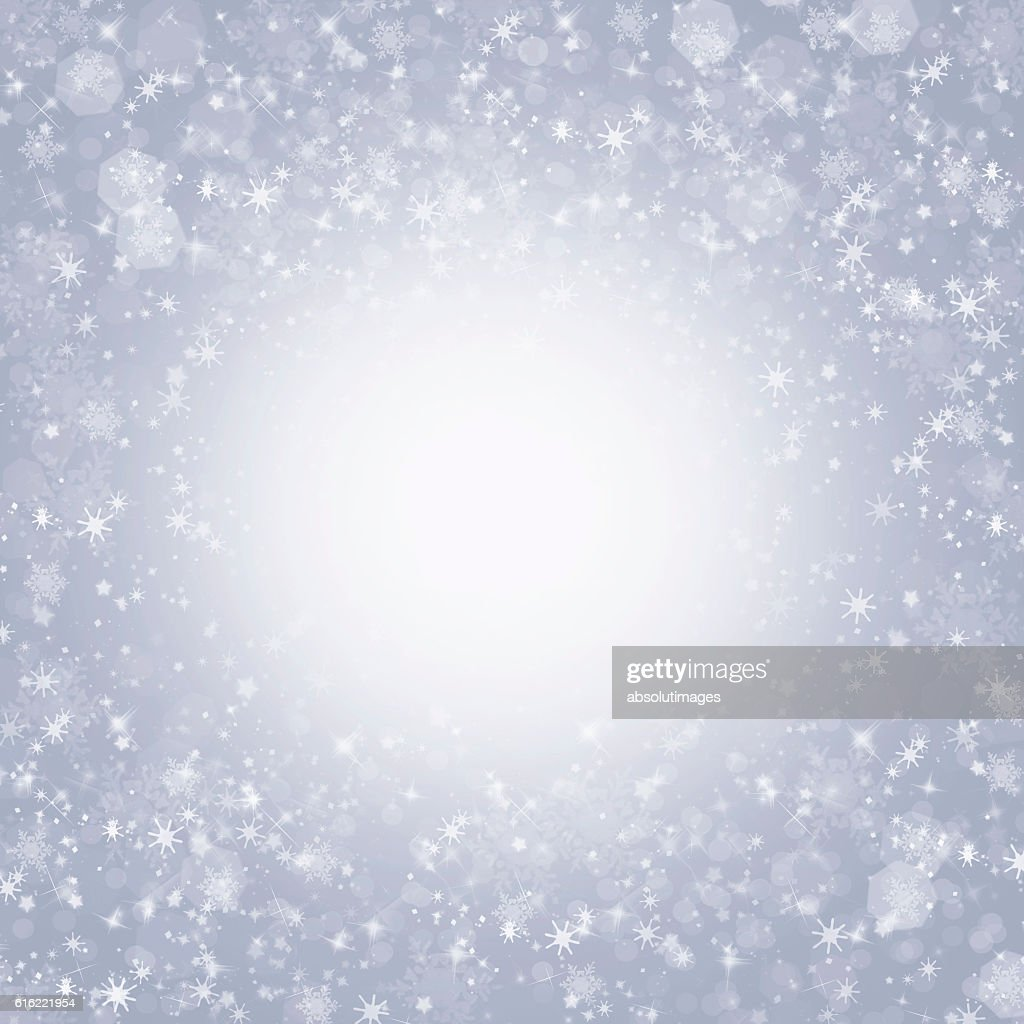 Christmas backdrop with ice crystal : Bildbanksbilder