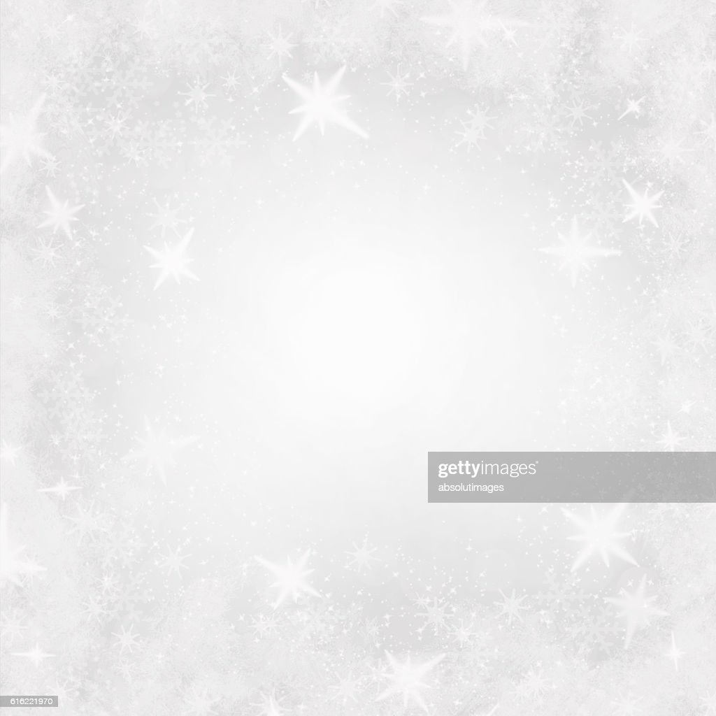Christmas backdrop with ice crystal : Photo