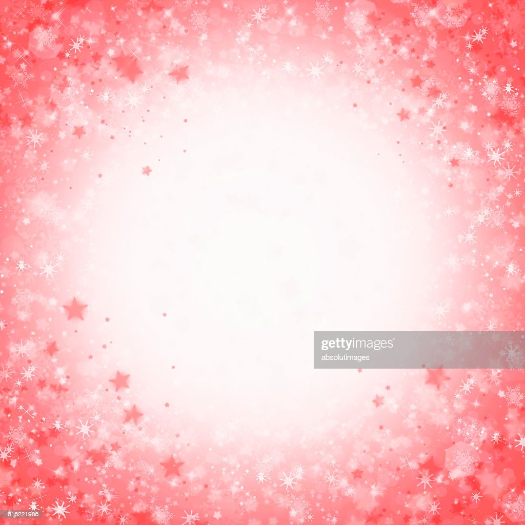Christmas backdrop with ice crystal : Stock-Foto