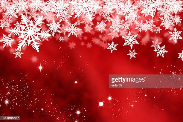 christmas background - snowflake background stock photos and pictures
