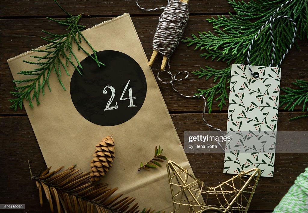 Christmas background : Stock Photo